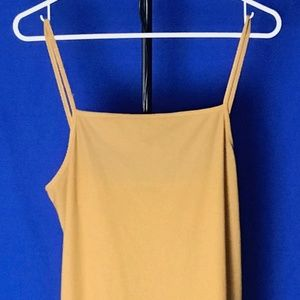 Tan Maxi Dress from United Colors of Benetton